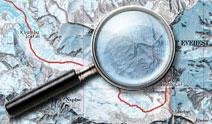 Альпинистские и скальные маршруты, карты